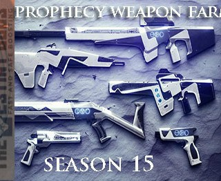 prophecy weapons