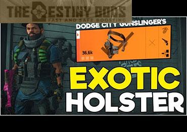 division 2 gunslinger's exotic holster