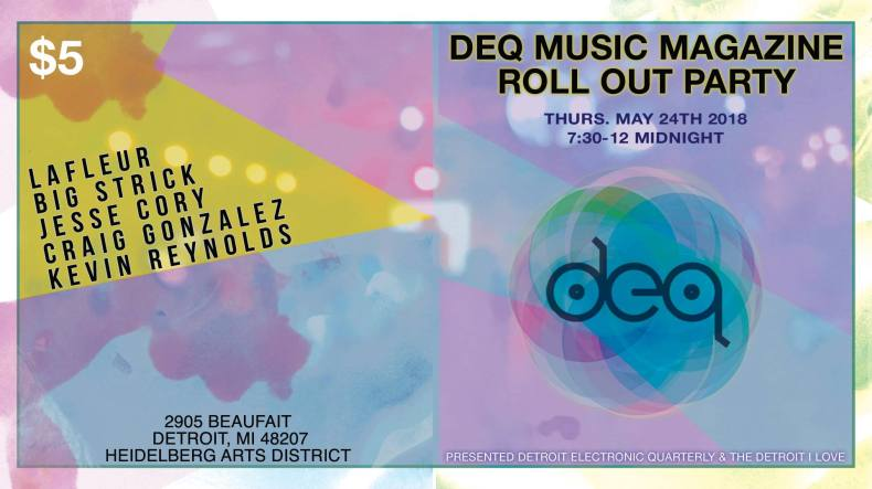 DEQ Magazine Roll Out Party
