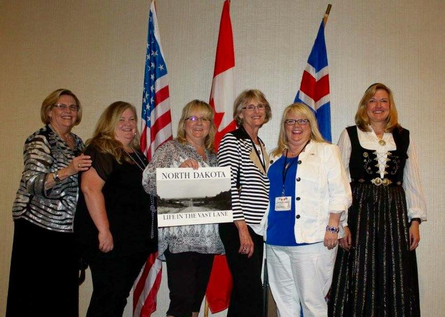 North Dakota gals at the 2016 INLNA Convention in Vancouver