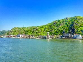 Stunning views along the Rhine