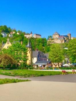View of Burg Rheinfels