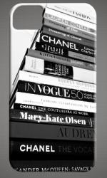Stack of fashion magazines