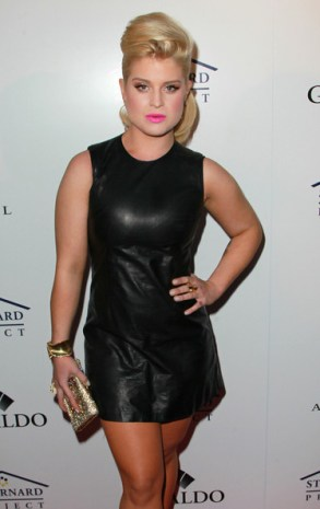 Kelly+Osbourne+Dresses+Skirts+Leather+Dress+vQRuzgLSkChl