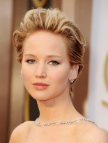 Jennifer Lawrence -- I seriously LOVED her hair!
