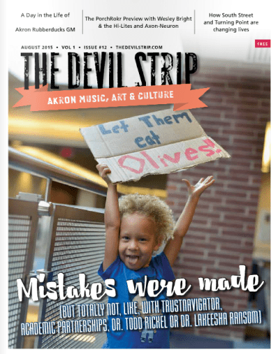 ABOUT THIS ISSUE'S COVER: When photographer Shane Wynn saw what was happening with the protests outside the Board of Trustees meeting, she hopped in her car with her camera, headed to UA's Student Union and started snapping photos. This one, of 3-year-old Jahara, was one of our favorite shots. (Find more, like the feature image on this story, in the back of the issue.) Thank you, Shane!