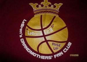 LeBron James Grandmothers Fan Club