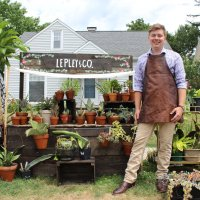 Houseplant business blooms on Goodyear Heights sidewalk