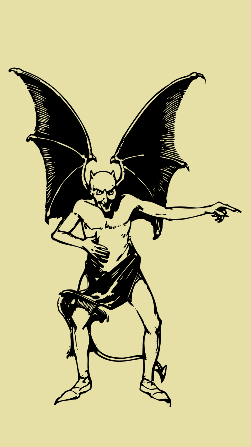 The Devil Unbound: On happiness and critical thinking.