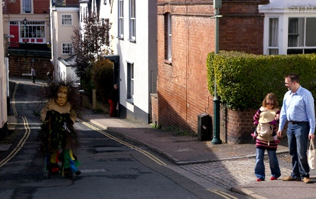 The Green Man in Exeter