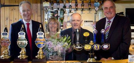 Devon pub, New Inn at Kilmington celebrates in 2012