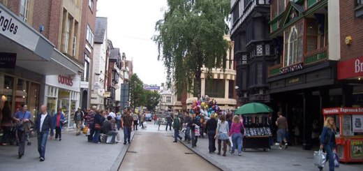 (image: Exeter High Street © Copyright Lewis Clarke and licensed for reuse under this Creative Commons Licence.)