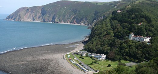 Lynmouth Bay © Copyright Martin Bodman and licensed for reuse under this Creative Commons Licence.