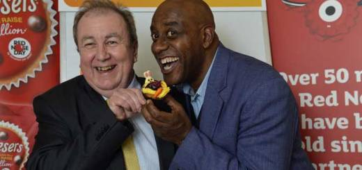 (image: Torbay MP Adrian Sanders and celebrity chef Ainsley Harriott)