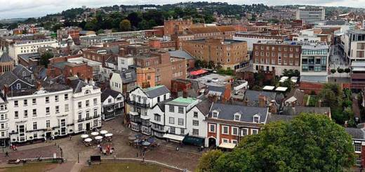 (image: Exeter by Smalljim CC BY-SA 3.0)