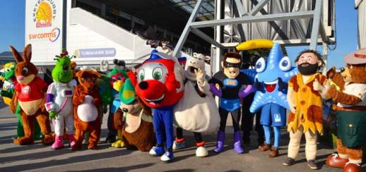 Mascots (image: courtesy of Azure Photography)