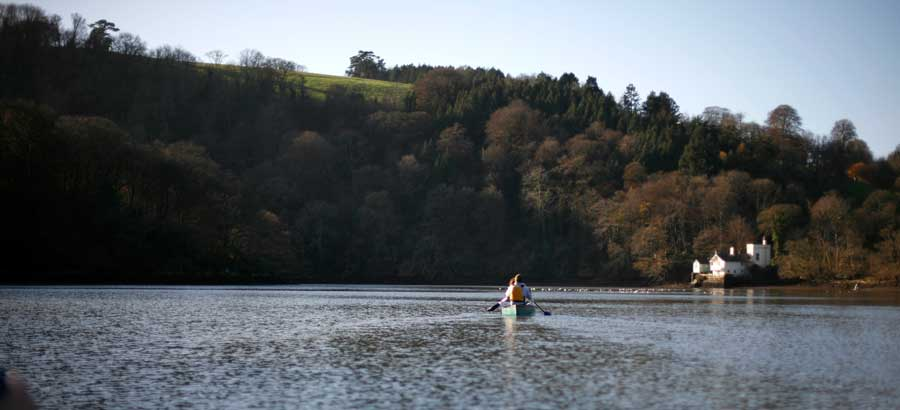 Sharpham Trust Canoe Paddle, by Jon Howell