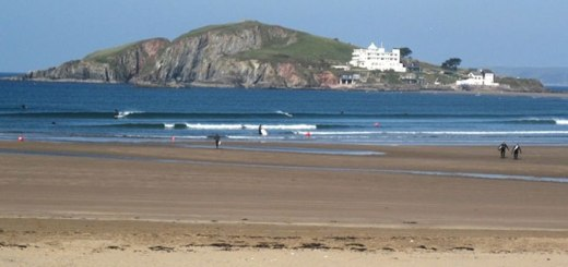 Bantham Beach Devon
