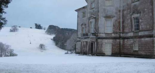 Winter at Sharpham Trust