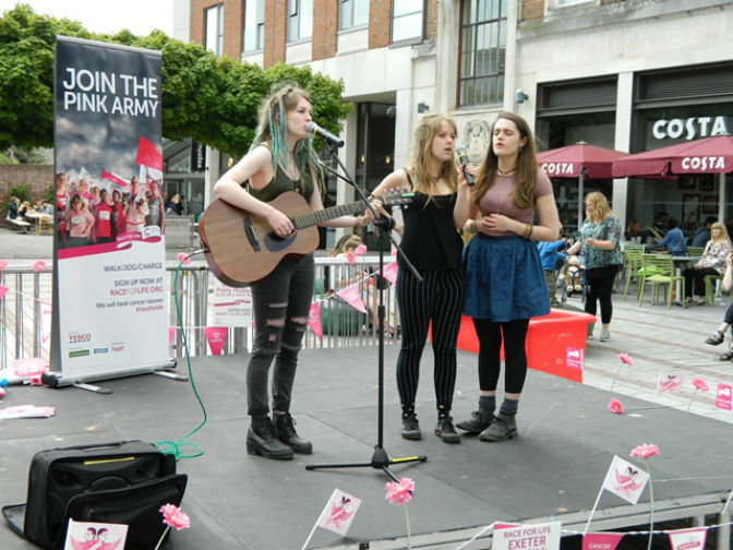 Exeter Race for Life Launch Event