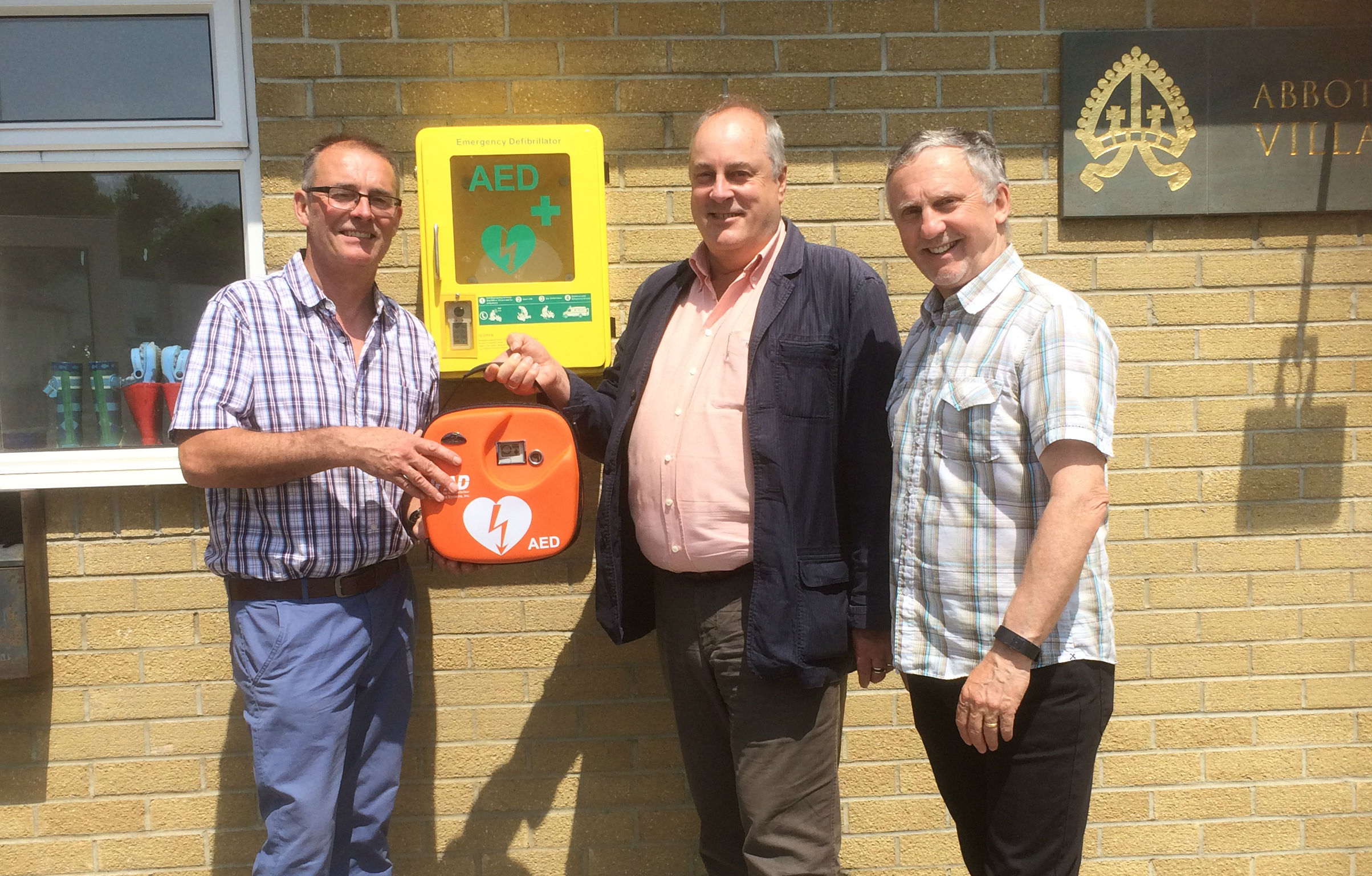 Abbotskerswell Defibrillator