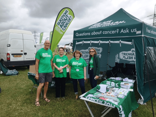 The Macmillan mobile information team in Devon