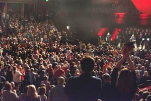 Show of Hands get a standing ovation at the Royal Albert Hall. Courtesy of Judith Burrows