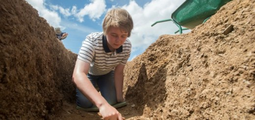 Digging at Ipplepen
