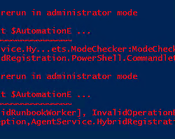 Add-HybridWorker Self Sign Error