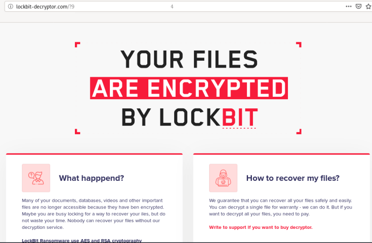 Lockbit Ransomware, Why You No Spread?