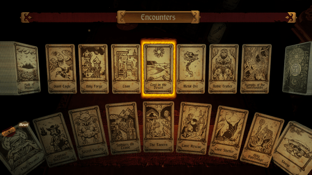 hand of fate, card based encounters, card game, strategy game for ps4, playstation 4 games,