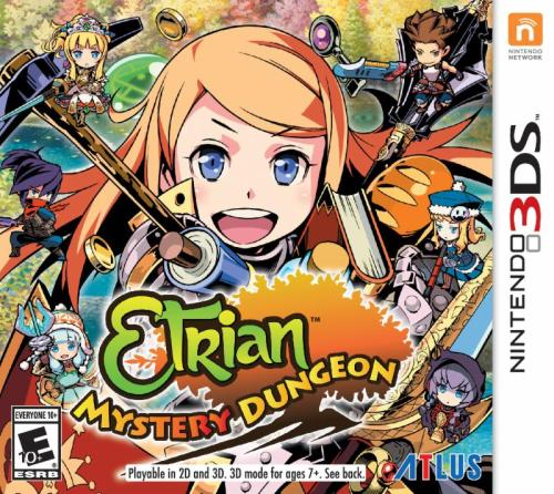 etrian mystery dungeon, atlus usa, rouge rpg, nintendo 3ds games, rpg games for nintendo, rpg games, jrpg,
