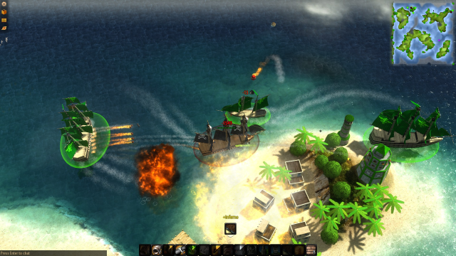 pirate ships, ship game, windward, steam pc, steam for mac, tasharen entertainment, indie games,