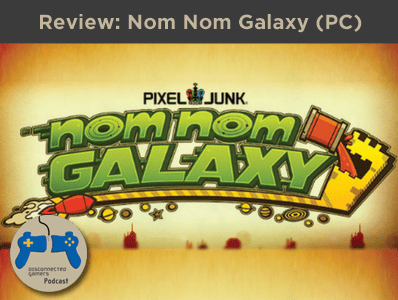 nom nom galaxy, pixel junk shooter, pc games, steam pc game review, gaming reviews,