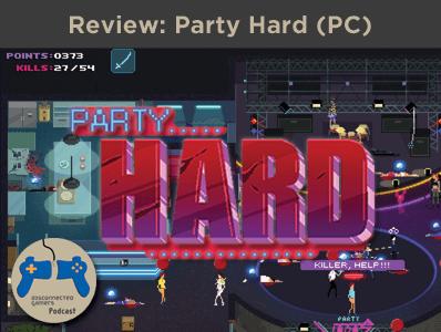 party hard game, party hard 8 bit, steam game, tinybuild games, pinokl developer, hotline miami, single screen slasher,