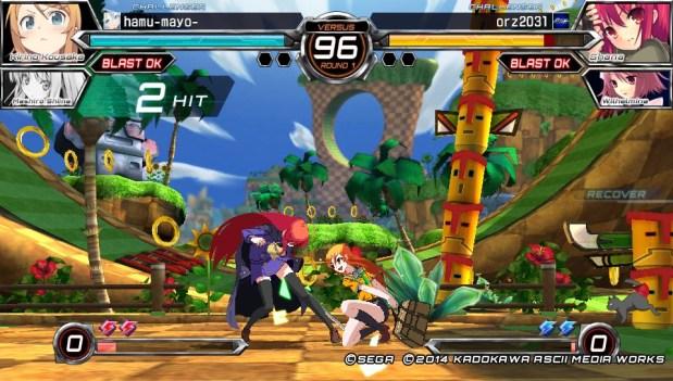 dengeki bunko fighting climax, sega fighting game, virtua fighter, playstation vita, psvita fighting games, story mode fighting, arcade fighting games,
