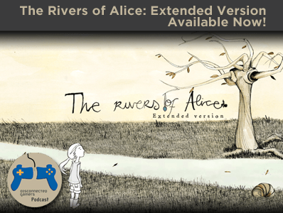 rivers of alice game, delirium studios, spanish indie game developer, the rivers alice extended, wii u point and click games,
