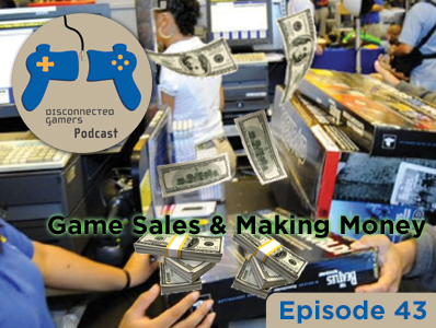 gaming podcast, game sales, yearly volume sales of video games, video game sales discussions, cost to make video games,