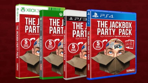 jackbox party pack, the jackbox party pack, jackbox games, telltale games, retail copies of games,