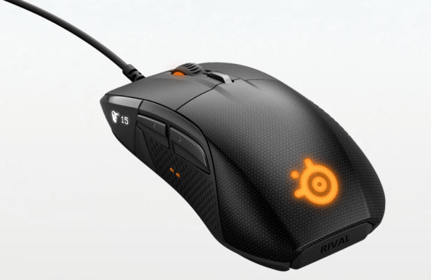 steelseries, gaming steel series mice, mouse with OLED screen, customizable gaming mouse,