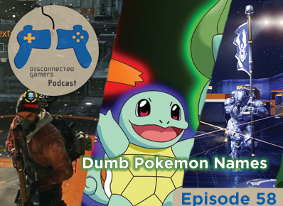 the division, dumb pokemon names, halo 5 multiplayer, digigmon cyber slueth, playstation 4,
