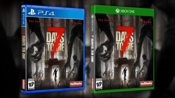 7 days to die, survival zombie game, 7 days to die game, zombie games, telltale publishing, playstation 4, xbox one,