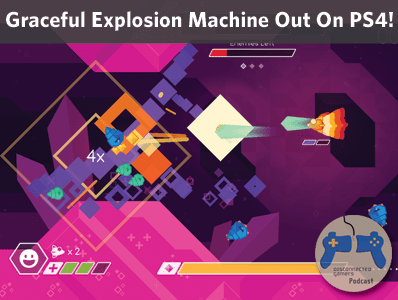graceful explosion machine, vertex pop, ps4 games, arcade shooter for steam, nintendo switch games, gem for ps4,