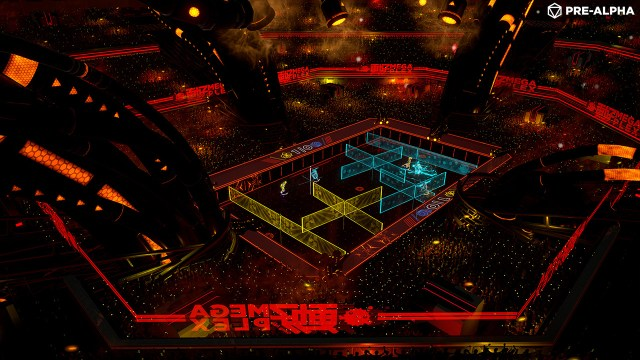 laser league, roll 7, 505 games, intense multiplayer action, local multiplayer, co op online, laser walls,