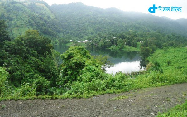 Bandarban hill region is a natural landscapes