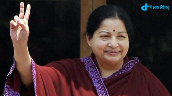 Jayalalithaa was released