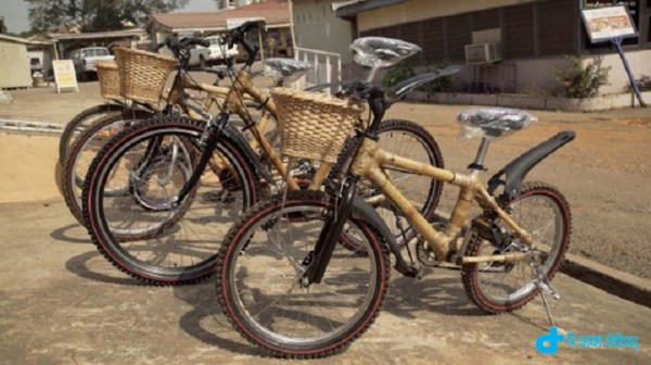 bike is made of bamboo commercially