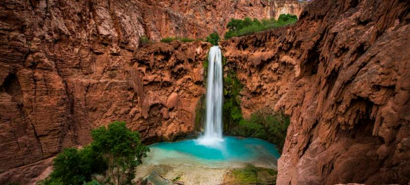 Chasing Waterfalls in Havasupai: Mooney Falls