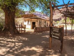 Supai village tourist office