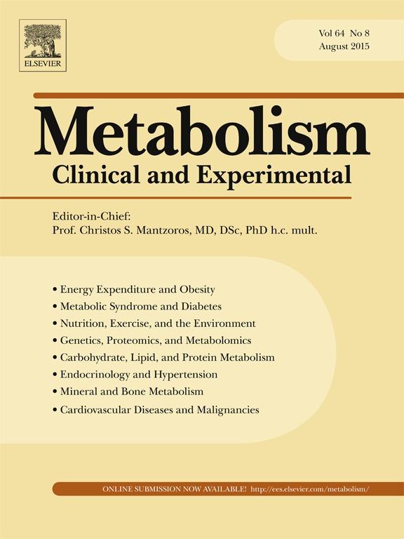 Journal: Metabolism, August 2015